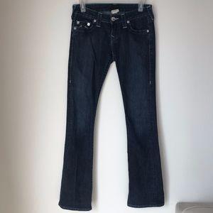 True Religion Turquoise Denim Jeans